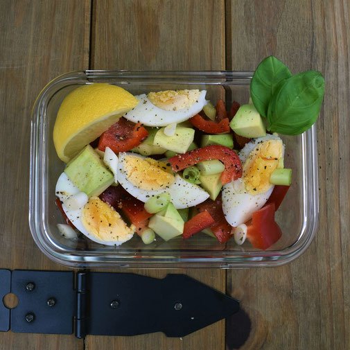 Avocado & Egg Salad