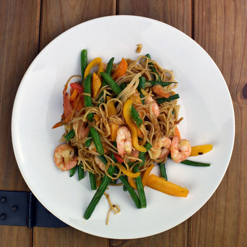 Black Pepper Prawn Stir-Fry