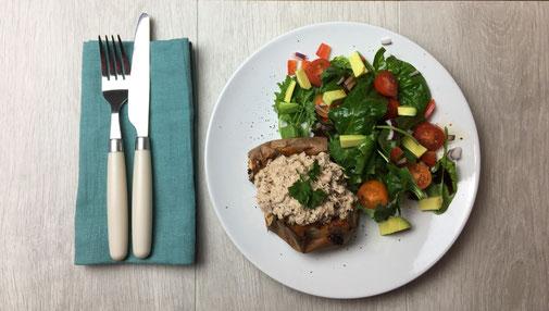 Sweet Potato Tuna Salad