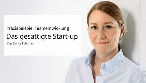 Praxisbeispiel Teamentwicklung von Bianca Fuhrmann, www.bianca-fuhrmann.de