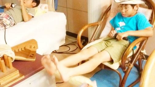 上下運動器の活用で血流改善:千葉県鎌ケ谷市の整体院 自然医学療法センター橋本です。
