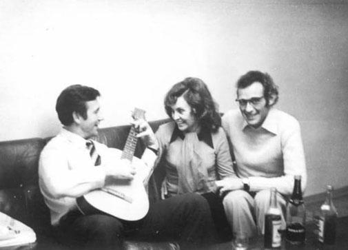 1975 год. Женева. В гостях у одного инженера из ЦЕРНа и его подружки испанки Марии-Луизы. «Не жалею, не зову, не плачу…» (Есенин)