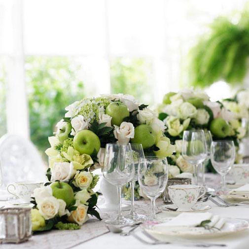 Allestimento floreale ricevimento/ristorante