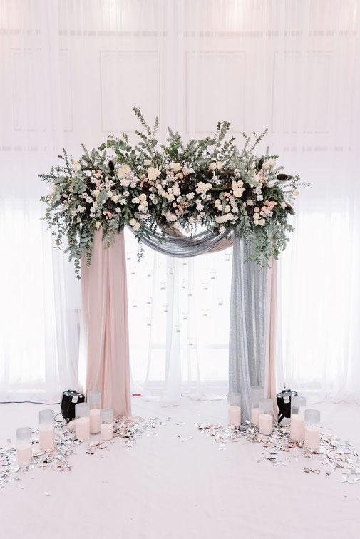 Arco Floreale Matrimonio