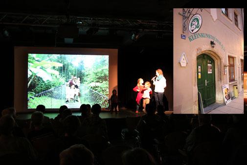 Costa Rica Aufführung Kleinkunstbühne Pirna