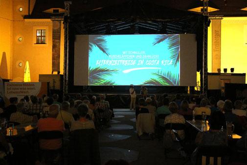 Costa Rica Aufführung im Schloss Freudenstein