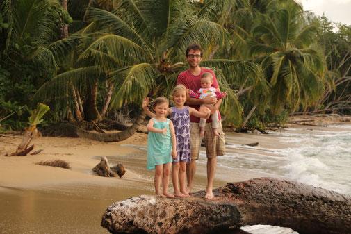Palmen Karibik Traumstrand Punta Uva