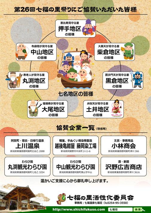 第26回 七福の里祭り【七福温泉 七福荘】