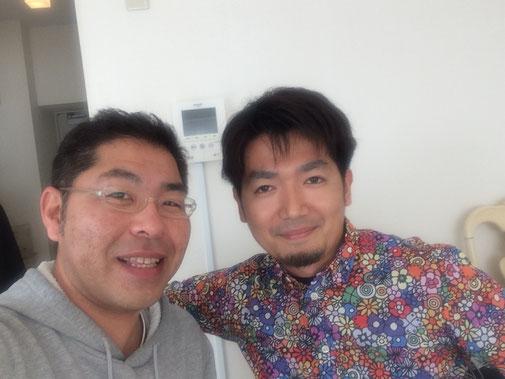 鹿児島からJimdoホームページを作りたい、と飛行機で来ていただきました