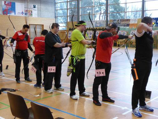 Bogenschützen aus Esslingenauf Meisterschaft in Ditzingen