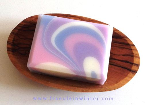 "Dancing Waves | ""Violet's Dance"" | Handmade Soap"