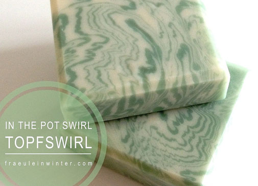 Topfswirl - In the Pot Swirl Soap - ITP-Swirl | Handegemacht von Fräulein Winter