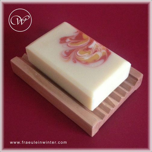 "Seife ""Swirl-Orange"" 