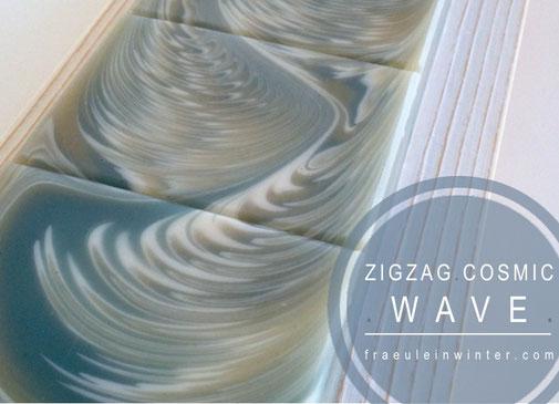 ZigZag Cosmic Wave Soap | Seifenmuster von Fräulein Winter