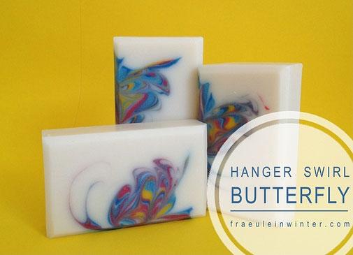Butterfly Swirl Soap | Seife von Fräulein Winter