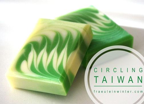 Seife mit Circling Taiwan Swirl | Fräulein Winter