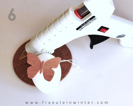 DIY - Osterdeko aus Furnier