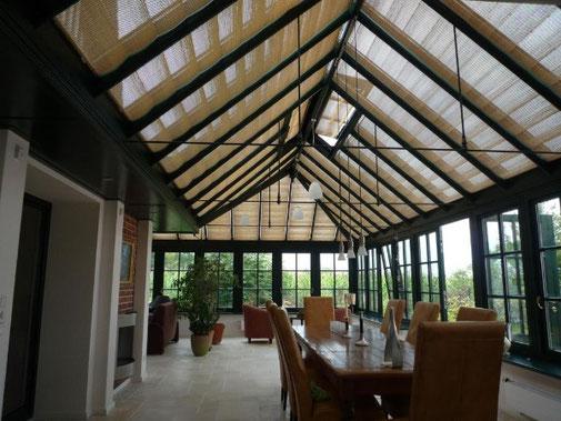 Pinoleum Wintergarten Sonnenschutz, Englisches Gewächshaus