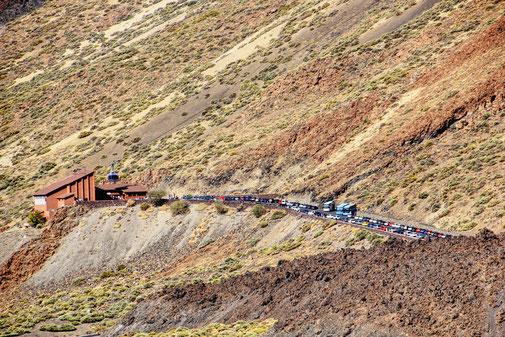 Teneriffa Highlights  Teide seilbahn