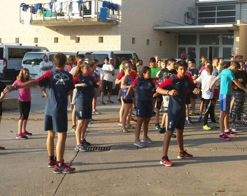 08:00 H preparación física impartida por Laia Fernández