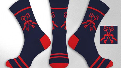 Sokken ontwerpen met logo