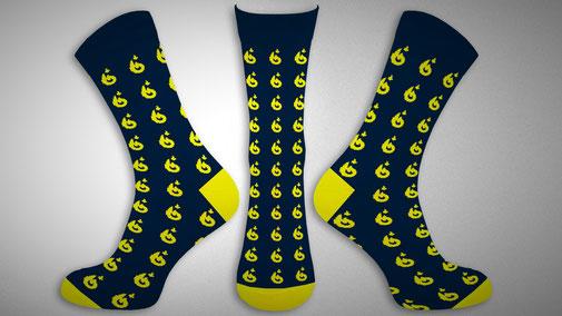 Sokken Ontwerpen en laten maken met logo