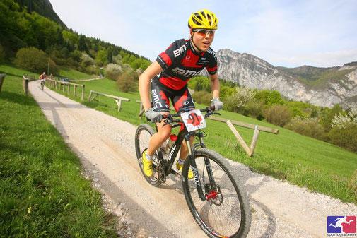 Kerstin Kögler, Marathon Riva/Gardasee. Foto: Sportograf