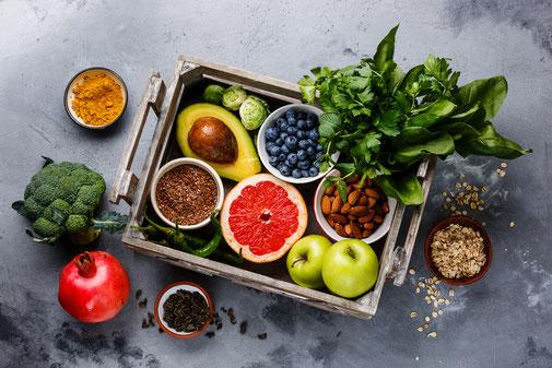 Beratung zur veganen Ernährung in der Naturheilpraxis Moni Näf in Muri, Freiamt
