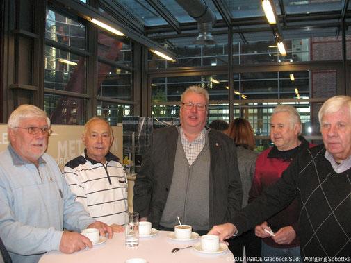 Foto. Neujahrsempfang IG BCE 2017, Gelsenkirchen, Ortsgruppenteilnehmer