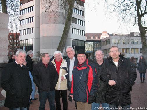 Foto: Neujahresempfang DGB 2017, Gladbeck, Ortsgruppenteilnehmer
