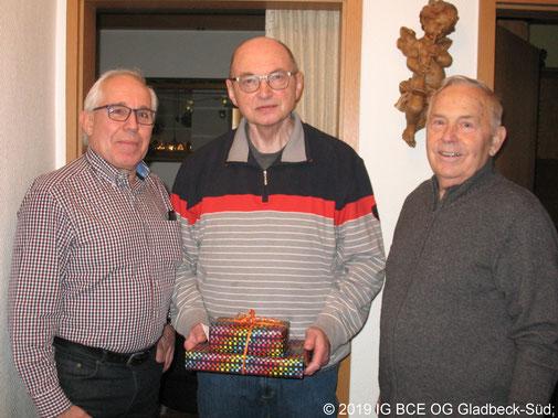 Gückwünsche zum 70 Geburtstag IGBCE Gladbeck-Süd