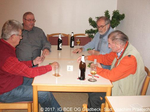 Fotos: IG BCE OG Gladbeck-Süd Winterskatturnier November 2017