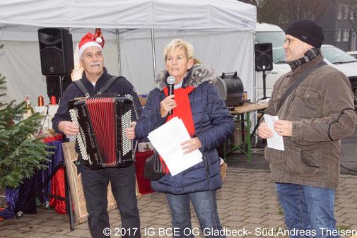 Fotos: IG BCE OG Gladbeck-Süd Adventsmarkt Dezember 2017