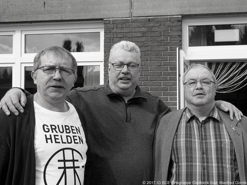 Von Links: Joachim Praetsch, Alfons Altkemper, Andreas Theisen