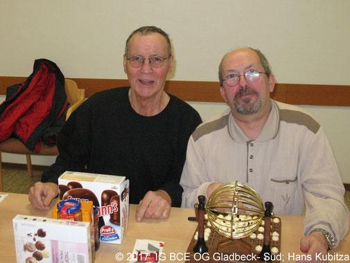 Fotos: IG BCE OG Gladbeck-Süd Adventskaffee und Bingo