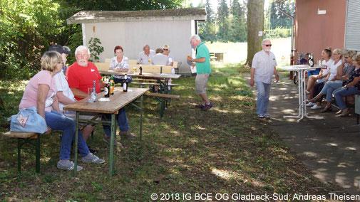 Foto: Teilnehmer Familien-Grillen, IG BCE OG Gladbeck-Süd