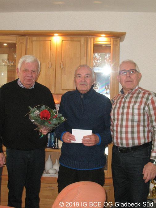 Glückwünsche zum 85 Geburtstag von Horst Prietz