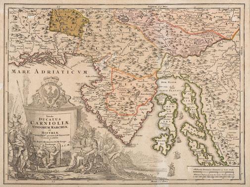 Riproduzioni mappe antiche