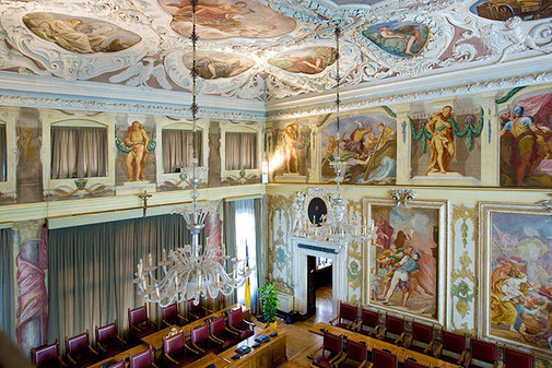 Fotografia Palazzo Belgrado Udine