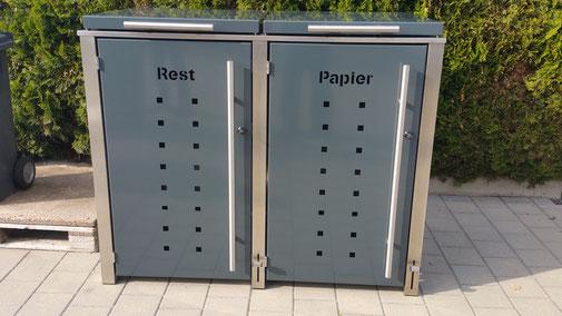 Abfalltonnenbox