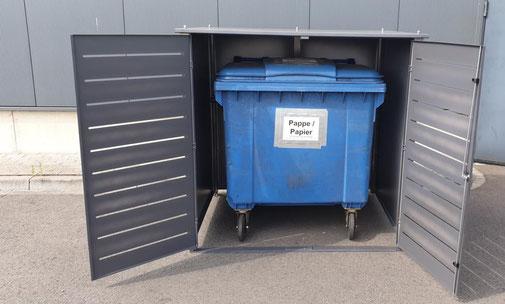 Mülleimerverkleidung