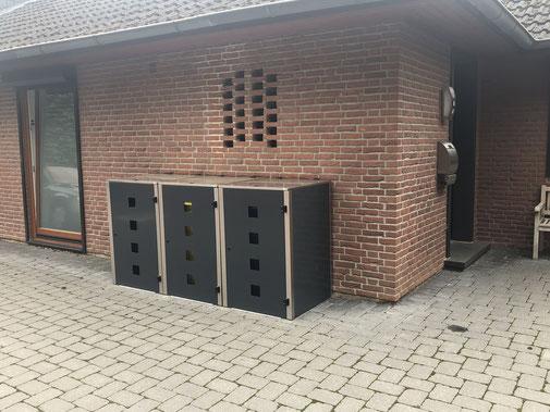 Müllbehälterbox