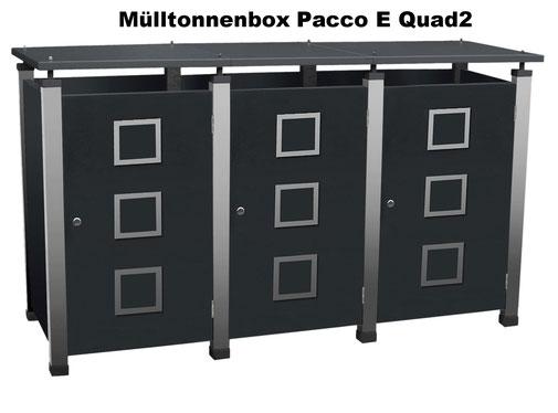 Mülltonnenboxen von Gero-Metall sind auch in Sondergrössen erhältlich.