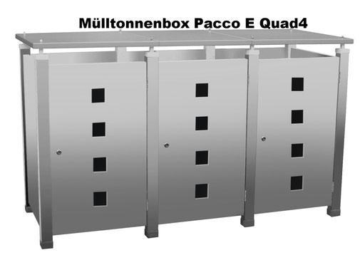 Mülltonnenbox Aluminium