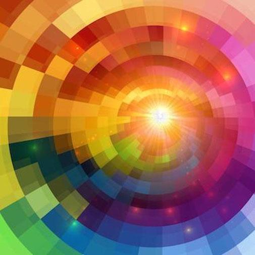 Stärke deine Aura mit den Farben des Regenbogens - Sabine Fels