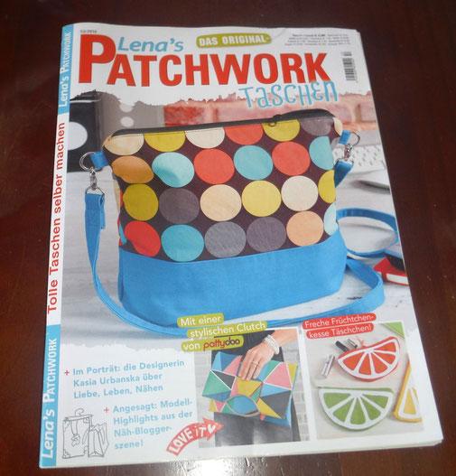 Stolz wie Bolle war ich, als einer meiner Kleinkinder-Rucksäcke in dieser Zeitschrift zu finden war.