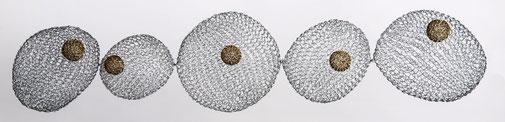 130 cm de haut / fil de fer - laiton