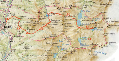 Alta via dell'Adamello