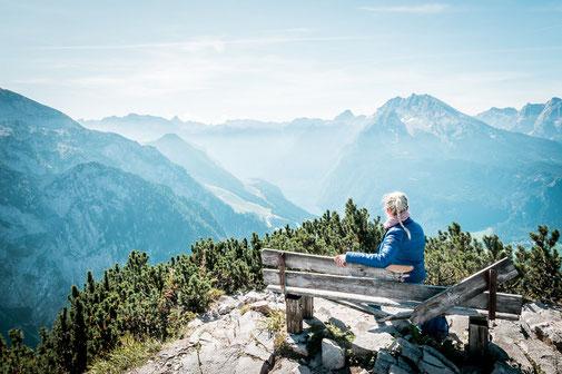 Ausblick vom Kehlsteinhaus, Berchtesgaden, Deutschland