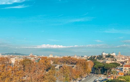 Aussicht auf Rom, Italien, Rom